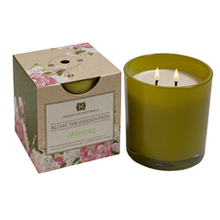 Hillhouse Naturals Along the Garden Collection: Jasmine Glass Candle
