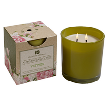 Hillhouse Naturals Along the Garden Path Collection: Vetiver Glass Candle
