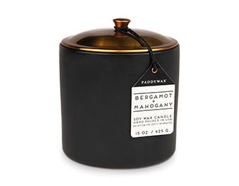 Paddywax Bergamot & Mahogany Hygge Candle