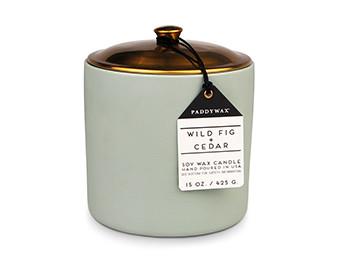 Paddywax Wild Fig & Cedar Hygge Candle