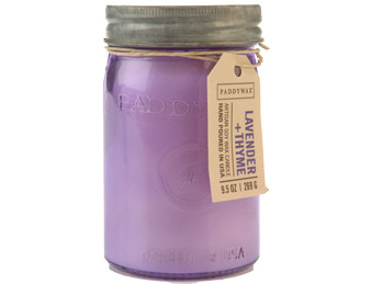 Paddywax Lavender & Thyme Jar Candle - Relish Collection