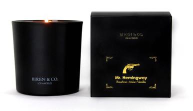 Biren & Co Mr. Hemingway Boxed Candle Memoris Collection