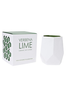 D.L. & Co. Verbena Lime 8 oz. Abstract Candle