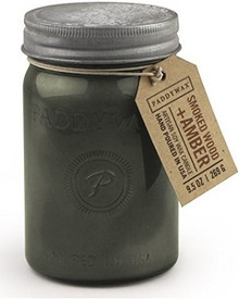 Paddywax Smoked Wood & Amber Jar Candle - Relish Collection