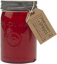 Paddywax Pomegranate Spruce Jar Candle - Relish Collection