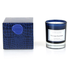 D.L. & Co. Vintage Leather Candle - L' Homme Collection