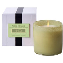 LAFCO Villa/Olive Blossom House & Home Glass Candle
