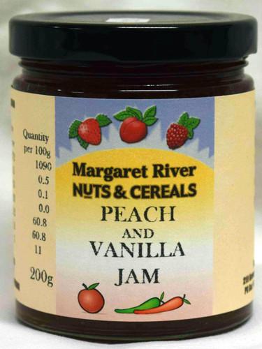 Peach & Vanilla Jam