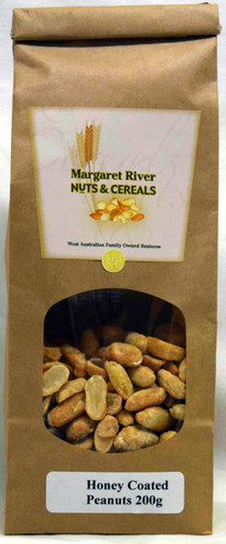 Honey Coated Peanuts - GLUTEN FREE