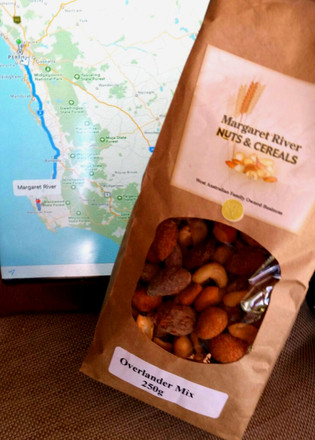 Heading south? Don't forget your nuts...