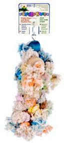Penn Plax Shaggy Kabob Bird Toys Large