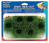 Penn Plax Baby Hide-Out Breading Grass for Aquarium