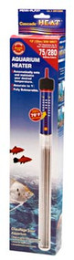 "Cascade Heat 13"" Aquarium Heater 300 Watt for 75 Gallon Tanks"