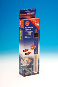"Cascade Heat 7"" Aquarium Heater 25 Watt for 5 Gallon Tanks"