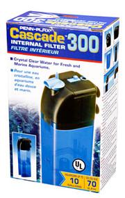 Penn Plax Cascade 300 Internal Filter for Aquariums Up to 10 gallons