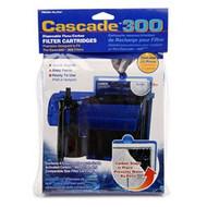 Penn Plax Cascade 300 GPH Filter Cartridges 3-Pack