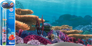 Penn Plax Finding Nemo Ocean Floor Scenery Background 10-Gallon