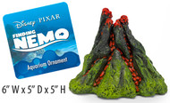Nemo 5 Inch Aerating Volcano Resin Aquarium Ornament