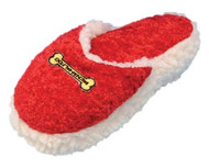 Penn Plax Fleece and Velvet Slipper Pet Toy 8-Inch