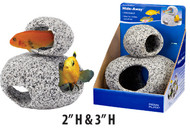 Penn Plax Hide-Away Stackable Stone Aquarium Ornaments