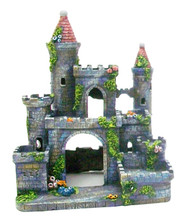 Penn Plax Medieval Castle of Germany Aquarium Ornament - Small