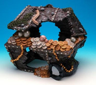 Penn Plax Sunken Treasure Chest Aquarium Decoration