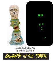 Penn-Plax Zombie Skull Totem Ornament