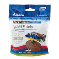 Aqueon Cichlid Color Enhancing Pellets 4.5-Ounces