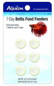Aqueon Food Betta Feeder 7-Day 6-Pack