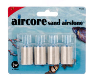 JW Pet Company 1-Inch Aircore Sand Airstone Aquarium Accessory 4-Pack