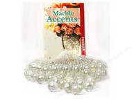 Panacea Lustre Clear 100 Count Pan Marbles for Aquarium