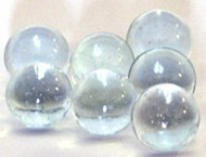 "Panacea Clear Glass Marbles 1/2"" in Diameter 500 Per Package of Marbles"