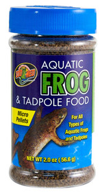 Zoo Med Aquatic Frog and Tadpole Food 2-Ounce