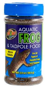 Zoo Med Aquatic Frog and Tadpole Food 2-Ounce