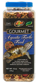 Zoo Med Gourmet Aquatic Turtle Food 12-Ounce