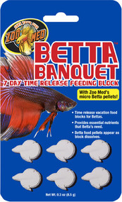 Zoo Med Betta Banquet Blocks 6 Units per Card