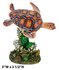 Penn Plax SWIMMING SEA TURTLE - SMALL