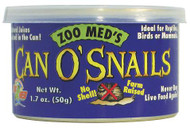 Zoo Med Can O' Snails Turtle Food 1.7-Ounce