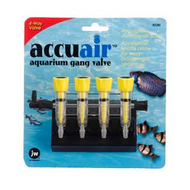JW Pet AccuAir Gang Valve - 4-Way