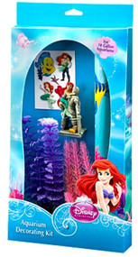 Penn Plax LITTLE MERMAID DECORATING KIT