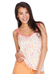 Octopus Lace Trim Cami