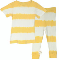 Kids Yellow Stripe PJ