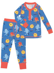 Furry Monsters Kids Long Sleeve Long John (MK01000)