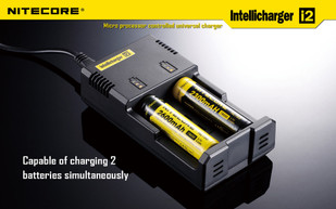 NiteCore Intelli Charger I2