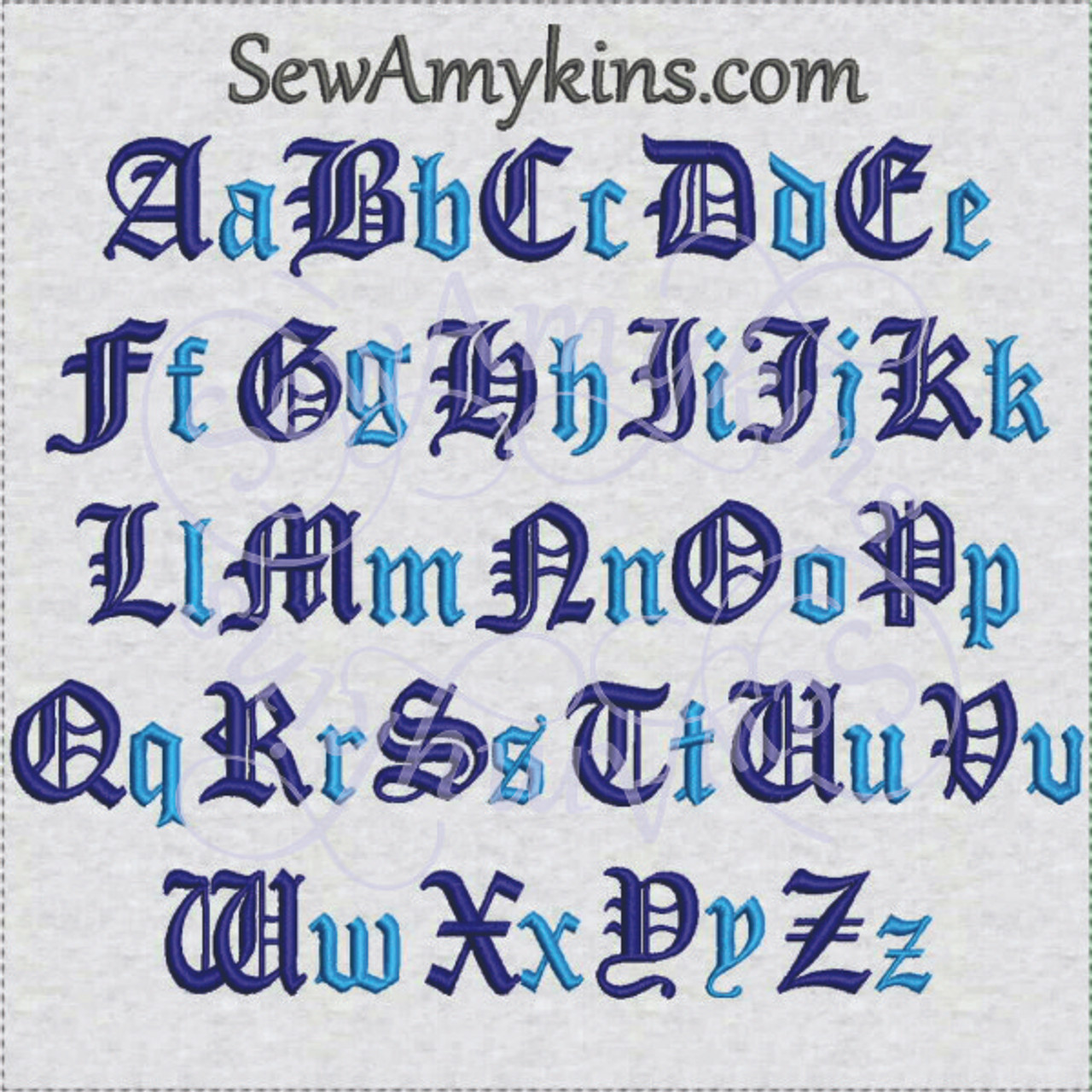 font old english