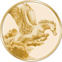 Creatures of Myth & Legend 0.5g Gold Pegasus Tokelau Proof Coin