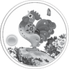 2017 Tokelau Year of the Rooster Base Metal Coin