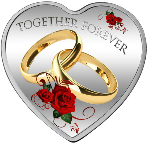 2017 Together Forever 20g Pure Silver Tokelau Coin