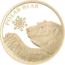 Polar Bear 0.5g Gold Tokelau Coin
