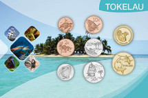 Tokelau Circulating Coin Set 2017 consists of 8 Coins